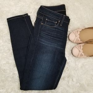PAIGE High Rise Ankle Skinny Jeans